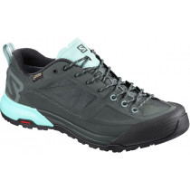Salomon Shoes X Alp Spry Gtx  Women's Balsam Green/Urban Chic/Canal Blue