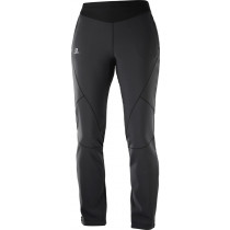 Salomon Lightning Warm Sshell Pant Women's Black