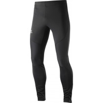 Salomon Trail Runner Windstopper Tight Men's Black