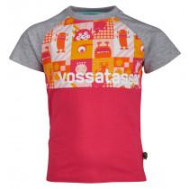 Vossatassar Monstermix T-Skjorte Pink