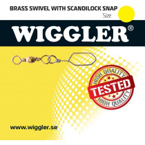 Wiggler Mässing Lek Scandilock Brass