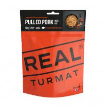Real Turmat Pulled Pork Med Ris 500 Gr Orange