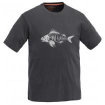 Pinewood T-Shirt Fish Barn Antracite