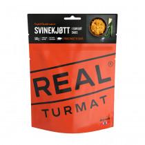 Real Turmat Svinekjøtt I Sursøt Saus 500 Gr Orange