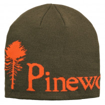 Pinewood® Mössa Melerad Grön/Orange