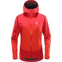 Haglöfs Virgo Jacket Women Pop Red/Rich Red