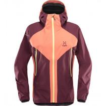 Haglöfs L.I.M Proof Multi Jacket Women Coral Pink/Aubergine
