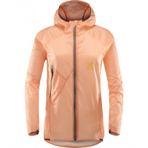 Haglöfs L.I.M Shield Comp Hood Women Cloudy Pink