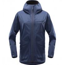 Haglöfs Eco Proof Jacket Women Tarn Blue