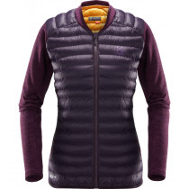 Haglöfs Mimic Hybrid Jacket Women Acai Berry/Lilac