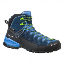Salewa Men's Alp Trainer Mid Gtx Dark Denim/Cactus