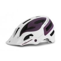 Sweet Protection Bushwhacker II Helmet Women's Matte White/Vibrant Violet