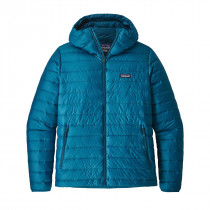 Patagonia M Down Sweater Hoody Balkan Blue
