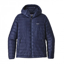 Patagonia M Down Sweater Hoody Classic Navy