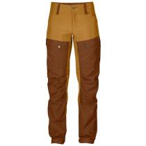 Fjällräven Keb Curved Trousers Woman`s Chestnut-Acorn