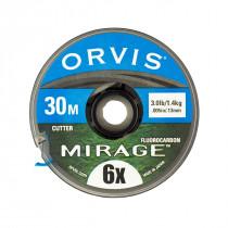 Orvis Mirage Fluorcarbon Tippet Klar
