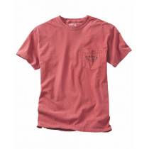 Orvis Vintage Salmon Fly T Shirt Lomme Rød