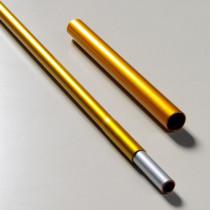 Hilleberg Stangseksjon 9 mm (inklusiv reparasjonshylse)