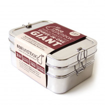 ECOlunchbox Three-In-One Giant Stainless Steel