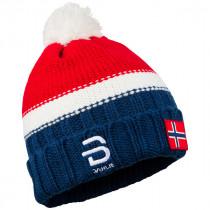 Bjørn Dæhlie Hat Podium Heavy Knit Norwegian Flag