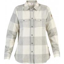 Fjällräven Canada Shirt LS Women's Fog-Chalk White