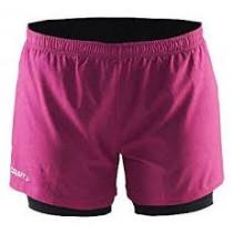 Craft Joy 2-In-1 Shorts W P Line Pop/Smoothie/Platinum