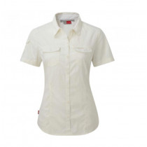 Craghoppers NosiLife Adventure Short Shortsleeved Shirt Sea Salt