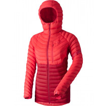 Dynafit Radical Down Women's Hood Jacket Hibiscus