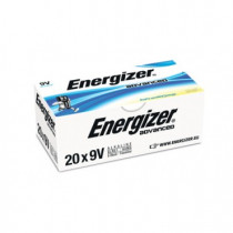 Energizer Advanced 20stk Black 9V/522