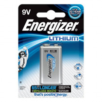 Energizer Ultimate Lithium 1stk Black 9V/522