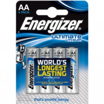 Energizer Ultimate Lithium 4stk Black AA/LR6/L91