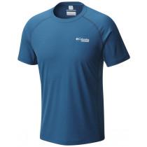 Columbia Montrail Men's Titan Ultra Short Sleeve Shirt Phoenix Blue