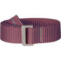 Fjällräven Striped Webbing Belt Peach Pink-Dusk