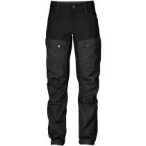 Fjällräven Keb Curved Trousers Woman`s Short Black