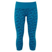 Mountain Equipment Cala Cropped Women's Legging Lagoon Blue configurable