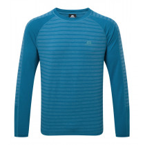 Mountain Equipment Redline LS Tee Alto Blue Stripe configurable