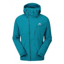 Mountain Equipment Squall Hooded Jacket Tasman Blue configurable