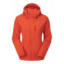 Mountain Equipment Squall Women's Hooded Jacket Kumquat configurable
