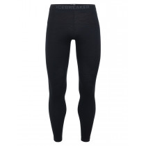 Icebreaker Mens 200 Oasis Leggings Black/Monsoon