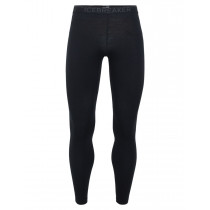 Icebreaker Mens 200 Zone Leggings Black/Mineral