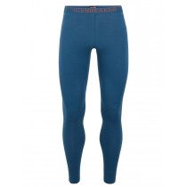 Icebreaker Mens 200 Zone Leggings Prussian Blue/Chili Red