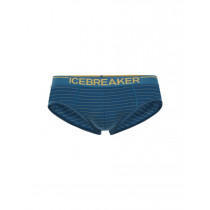 Icebreaker Mens Anatomica Briefs Prussian Blue/Ginger/Stripe - Limited Style