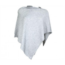 Felines Poncho 70x70 Light Grey