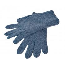 Felines Wool/Cashmir Hanske Denim Blue