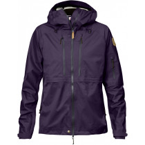 Fjällräven Keb Eco-Shell Jacket Women's Alpine Purple