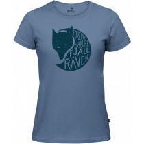Fjällräven Forever Nature Fox T-Shirt Women's Blue Ridge