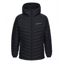 Peak Performance Frost Down Hood Artwork Black