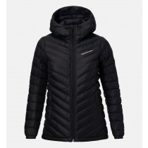 Peak Performance Women's Frost Down Hood Artwork Black