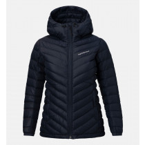 Peak Performance Women's Frost Down Hood Artwork Salute Blue