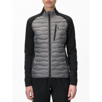 Peak Performance Women's Helium Hybrid Jacket Melange Grey Melange